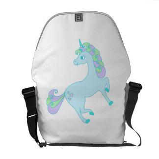 cute unicorn Rickshaw Messenger Bag