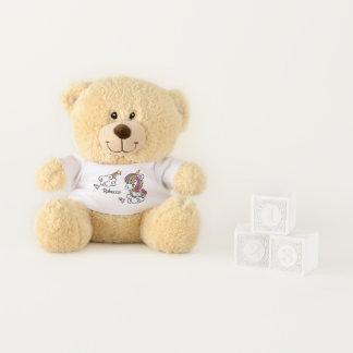 Cute Unicorn teddy bear