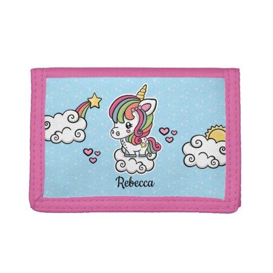 Cute Unicorn wallet