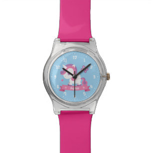 Cute Unicorn with Wings Kids Personalised Watch