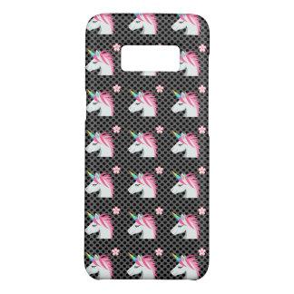 Cute Unicorns Flower Emoji Polka Dots Pattern Case-Mate Samsung Galaxy S8 Case