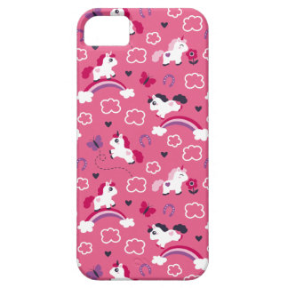 Cute Unicorns Pattern Case For The iPhone 5