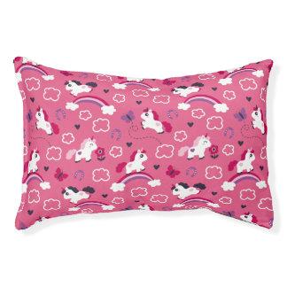 Cute Unicorns Pattern Pet Bed