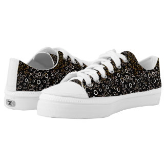 Cute Unique Bubble Pattern Low Tops