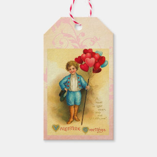 Cute Valentine Balloon Greetings Hanging Cards