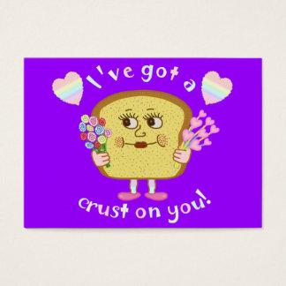 Cute Valentine's Day Bread Pun Kids Classroom