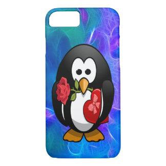 Cute Valentine's Day Penguin Funny Cartoon iPhone 7 Case