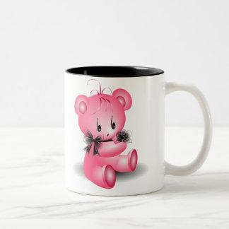 Cute Valentine's Teddy Bear Mug ~AngelArtiste