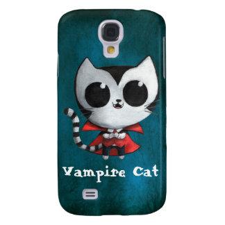 Cute Vampire Cat Samsung Galaxy S4 Case