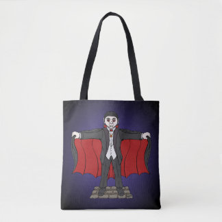 Cute Vampire Tote Bag
