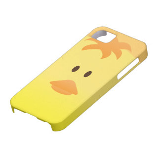 Cute Vector Art of Baby Chicken iPhone 5 Cases