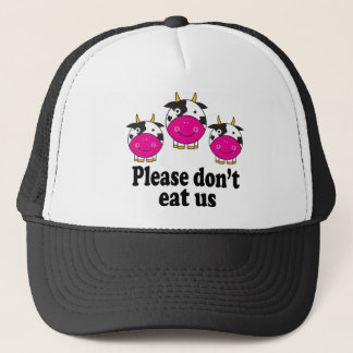 Cute Vegan Cows Hat