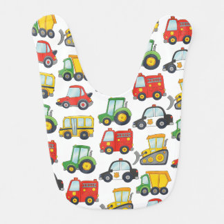 Cute Vehicles Bib
