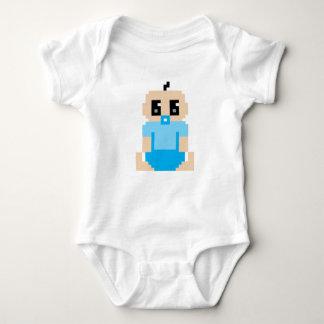 Cute Video Game Pixel Character Baby Onsie Baby Bodysuit