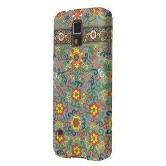 Cute Vintage Floral Pattern Galaxy S5 Case