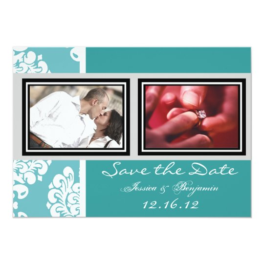 Cute Vintage Wedding Save the Date Cards