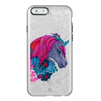 Cute Violet Magic Unicorn Fantasy Illustration Incipio Feather® Shine iPhone 6 Case