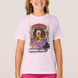 Cute Vivaldeer Animal Composer Vivaldi Parody T-Shirt