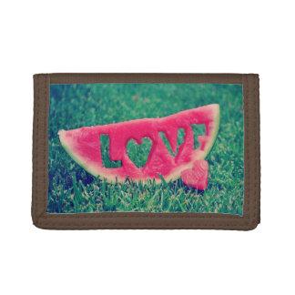 """Cute Watermelon """"Love"""" Wallet"""