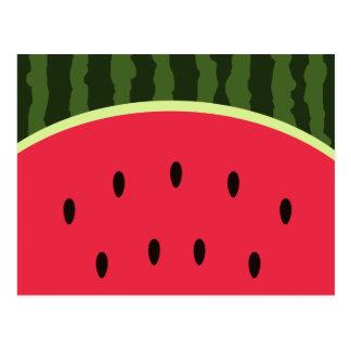 Cute Watermelon Postcard