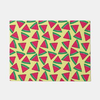 Cute Watermelon Slice Cartoon Pattern Doormat