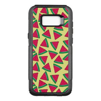 Cute Watermelon Slice Cartoon Pattern OtterBox Commuter Samsung Galaxy S8+ Case