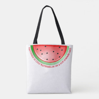 Cute Watermelon  Tote Bag