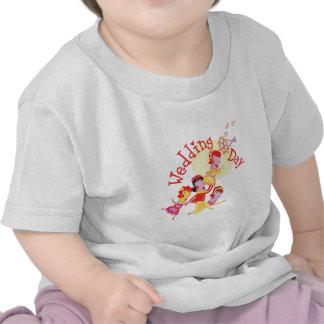 "Cute ""Wedding Day"" design T-shirt"