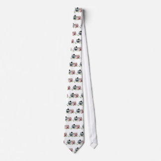 Cute Wedding Owls Tie