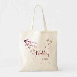 Cute Wedding Personalized Bag with  Sakura