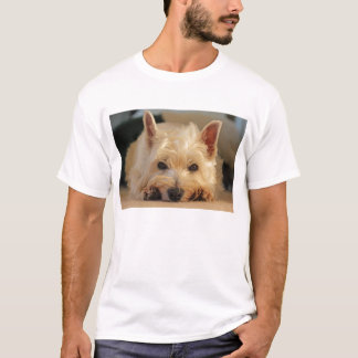 Cute West Highland Terrier Dog T Shirt