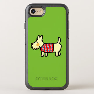 cute West Highland White Terrier puppy OtterBox Symmetry iPhone 8/7 Case