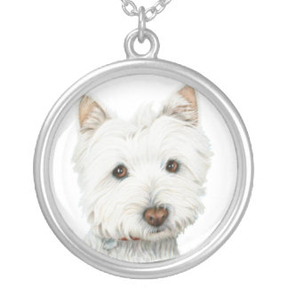 Cute Westie Dog Necklace