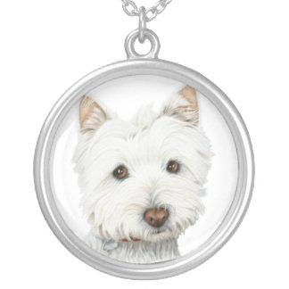 Cute Westie Dog Necklace