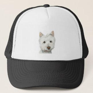 Cute Westie Dog Trucker Hat