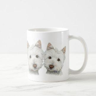 Cute Westie Dogs Coffee Mug