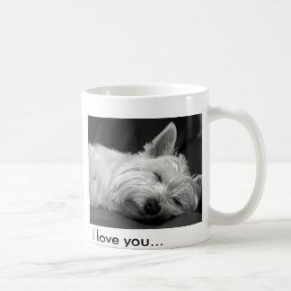 Cute Westie (West Highland Terrier) Dog Mug