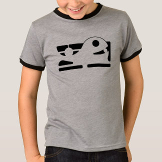 Cute whale kid basic ringer tshirt HQH