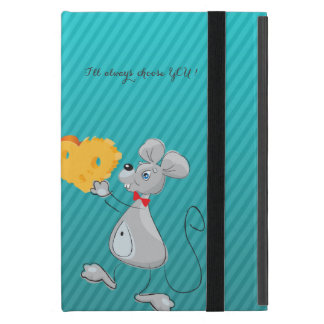 Cute Whimsical  Mouses-I`ll always choose you Case For iPad Mini