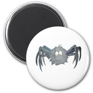 Cute Whimsical Spider Add Your Text or Name Magnet