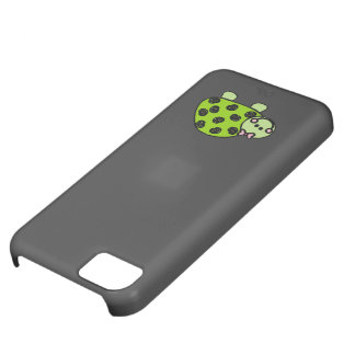 Cute Whimsical Turtle Lady iPhone 5C Case