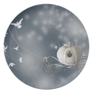 Cute, Whimsy Cinderella Story Plate