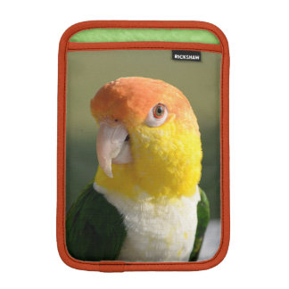 Cute White Bellied Caique Parrot Sleeve For iPad Mini