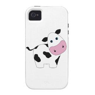 Cute White Cow iPhone4 Case