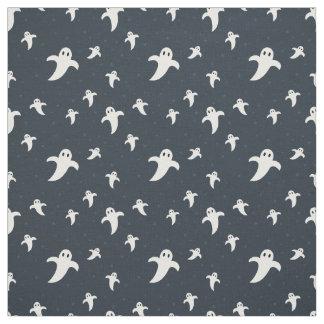Cute white ghosts fabric