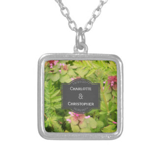 Cute Wild Flower Necklace for Wedding Gift