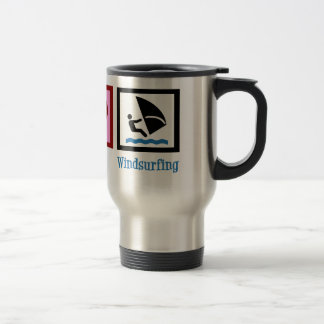 Cute Windsurfing Travel Mug