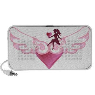Cute Wing Heart - Speaker