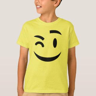 Cute winking emoji T-Shirt