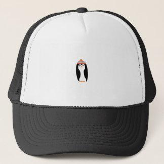 CUTE WINTER PENGUIN TRUCKER HAT
